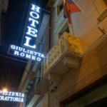イタリア【ベローナ】立地が最高に便利なホテル【ホテル ジュリエッタ エ ロメオ】 Hotel Giulietta e Romeo