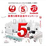 【JAL】クレジットカード100円の利用で4マイル貯まる!ビックカメラとのコラボ企画を見逃すな!