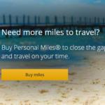 【ユナイテッド航空】マイル購入で最大100%ボーナスマイルがもらえます