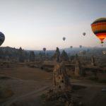 【トルコ】カッパドキアの気球オプショナルツアー【ロイヤルバルーン】体験記 ②~気球に乗ってから~
