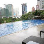 マレーシア | クアラルンプール【マンダリンオリエンタルホテル】プールとロッカールーム