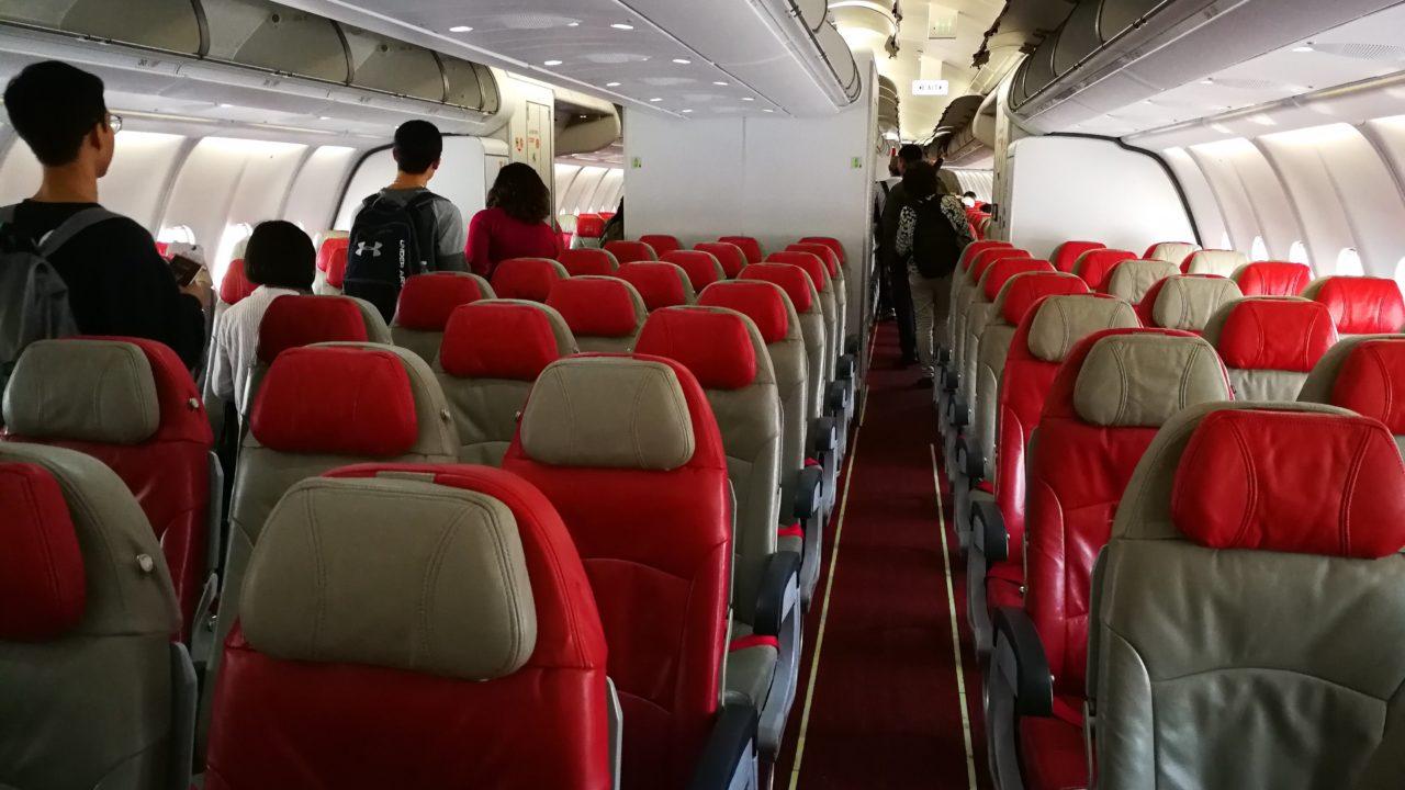 エア アジア x 座席