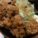 【驚愕のボリューム】トンテキの肉厚がすごかった【豚屋とん一】はからあげもすごかった!