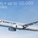 【アメリカン航空】マイル購入で最大120000ボーナスマイルキャンペーン実施中